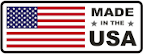 american flag with made in the usa text